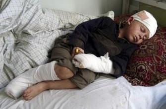 هژده کودک بر اثر انفجار یک سرگلوله در بغلان کشته و زخمی شدند