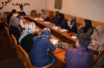 """گزارش مختصری از جریان تحقیق """"خشونت علیه زنان در رسانه ها و از طریق رسانه ها""""- ولایت بلخ"""