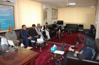 تطبیق سومین فعالیت گروه دادخواهی در سطح ناحیه-کابل