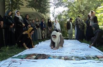 کمپاین جمع آوری یک میلیون امضاء برای تطبیق قانون محو خشونت علیه زنان و مجازات عاملین آن در ولایت فاریاب